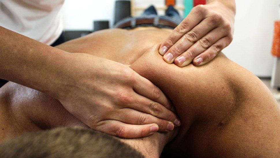 Thajská masáž – záda